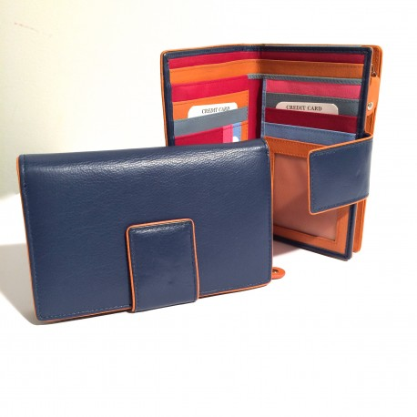 Leather Wallet small (mod. C)