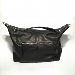 Leather Handbag Natalia Black