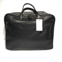 "Leather Business Bag ""Fabio"" Stripes"