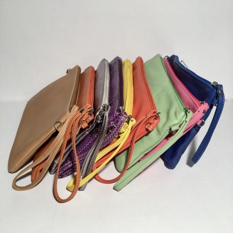 Leather shoulder bag Camilla
