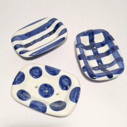 Ceramic soap holder