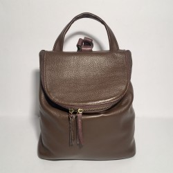 Leather Backpack Taormina Brown (mod a)