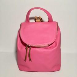 Lederrucksack Taormina Pink