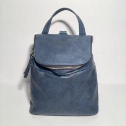 Lederrucksack Taormina Blau (mod b)