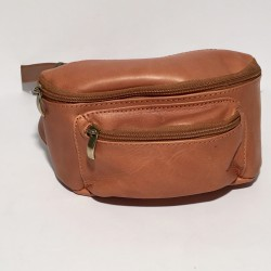 Leather Belly Bag Casual light brown