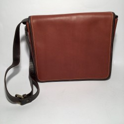 """Leather Business Bag for men  """"Padova"""" Brown"""