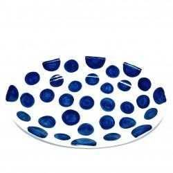 Sorrento Ceramic Oval Plate Large