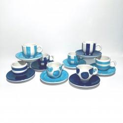 Sorrento Ceramic Espresso Set Full
