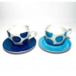 Sorrento Ceramic Cappuccino Set Full
