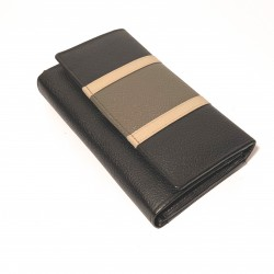 Leather Wallet large (mod. Corsica)