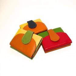 Leather Wallet Mini
