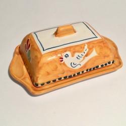 Solimene handbemalte Butterdose