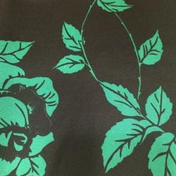 Rosa green on black